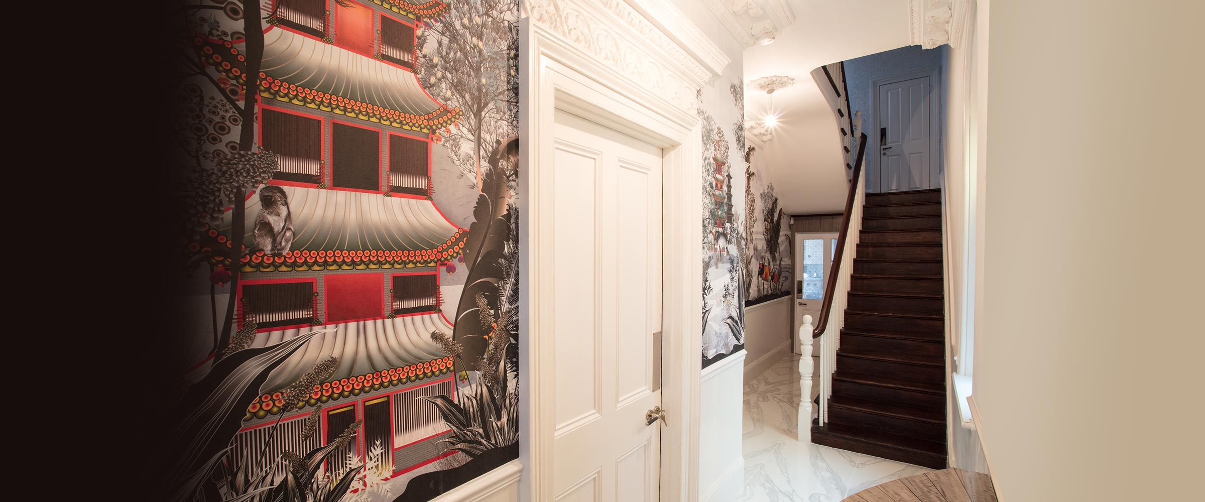 Hallway wallpaper by Modern Love